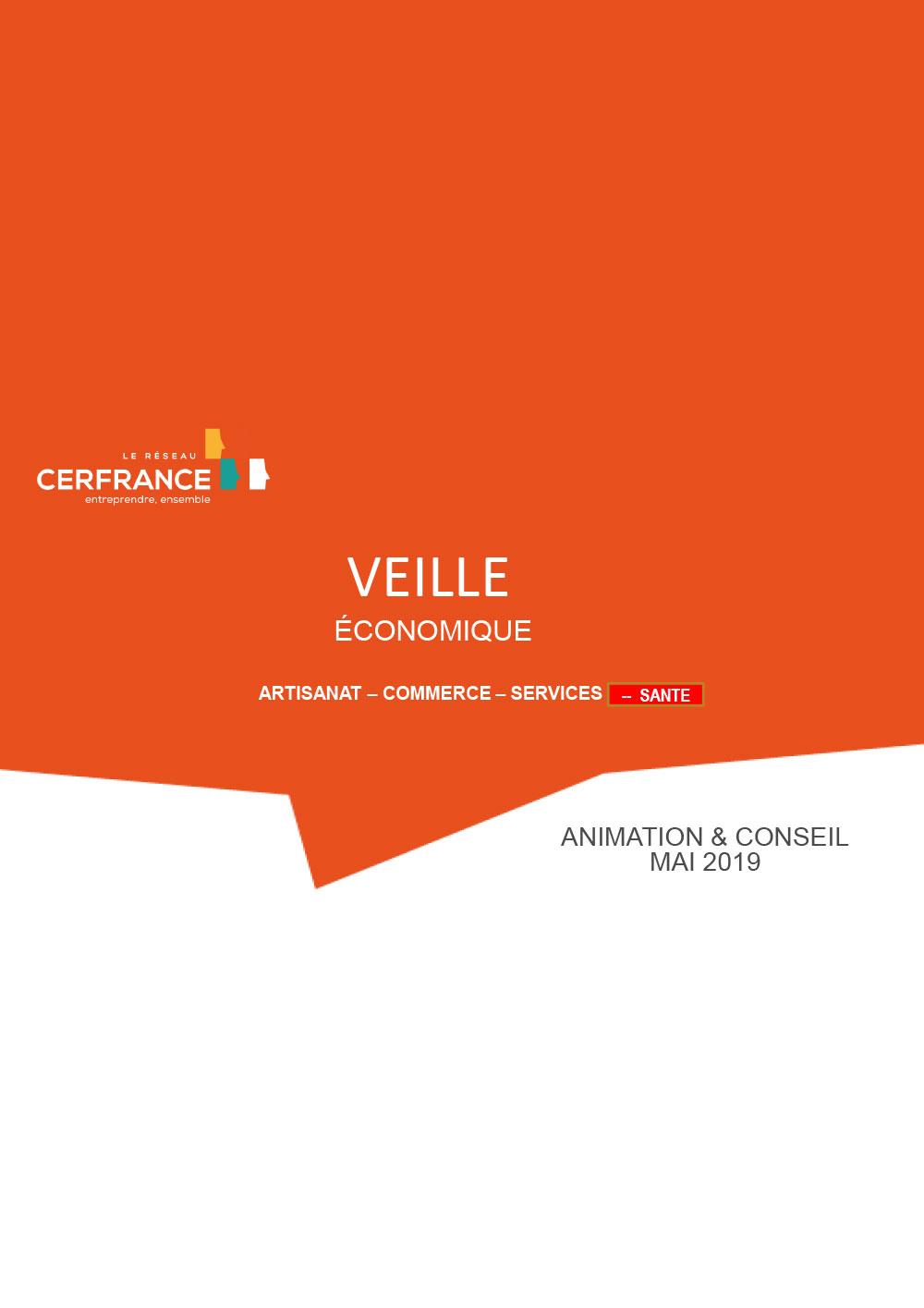 Veille économique – Bâtiment-tourisme-boulanger – Juin 2019