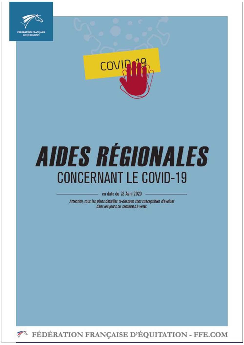 Covid19-Feedration francaise d'equitation