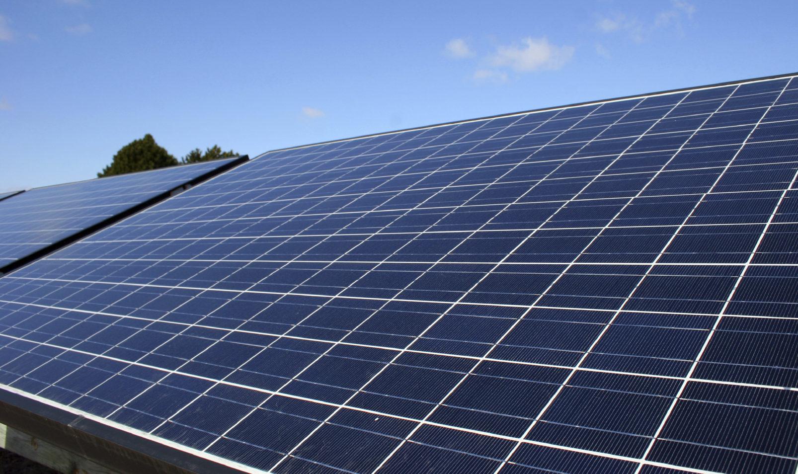 Le gouvernement veut réduire l'impact environnemental du solaire